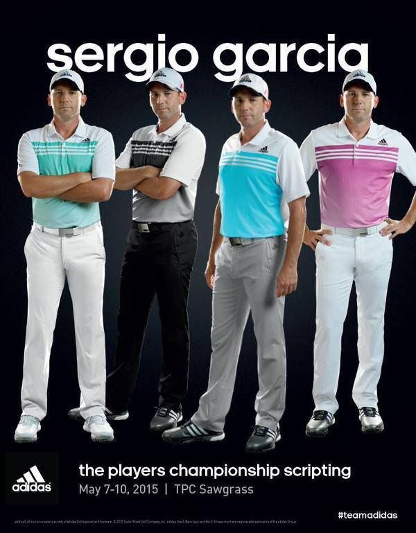 Sergio Garica Outfits on THE PLAYERS CHAMPIONSHIP 2015 #bruttopunkt #golfoutfits