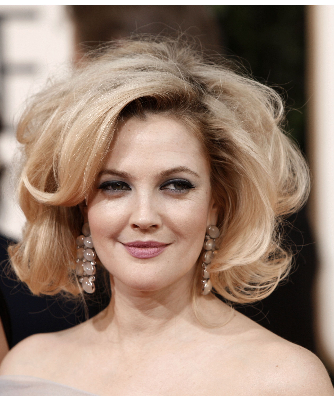 Admirable Drew Barrymore Bouffant Big Short Hair Big Texas Hair Drew Schematic Wiring Diagrams Phreekkolirunnerswayorg