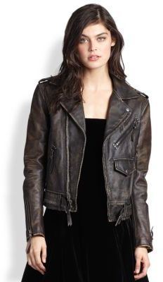 8a336debd2a82 Pin by Lookastic on Leather Jackets