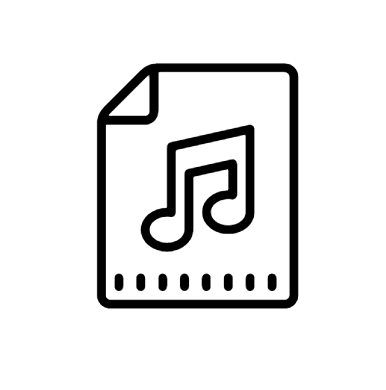 Audio File Icon This Page Contains The Vector Icon As Well As Variations Of This Icon In Different Visual Styles And Related Icon Android Icons Icon All Icon