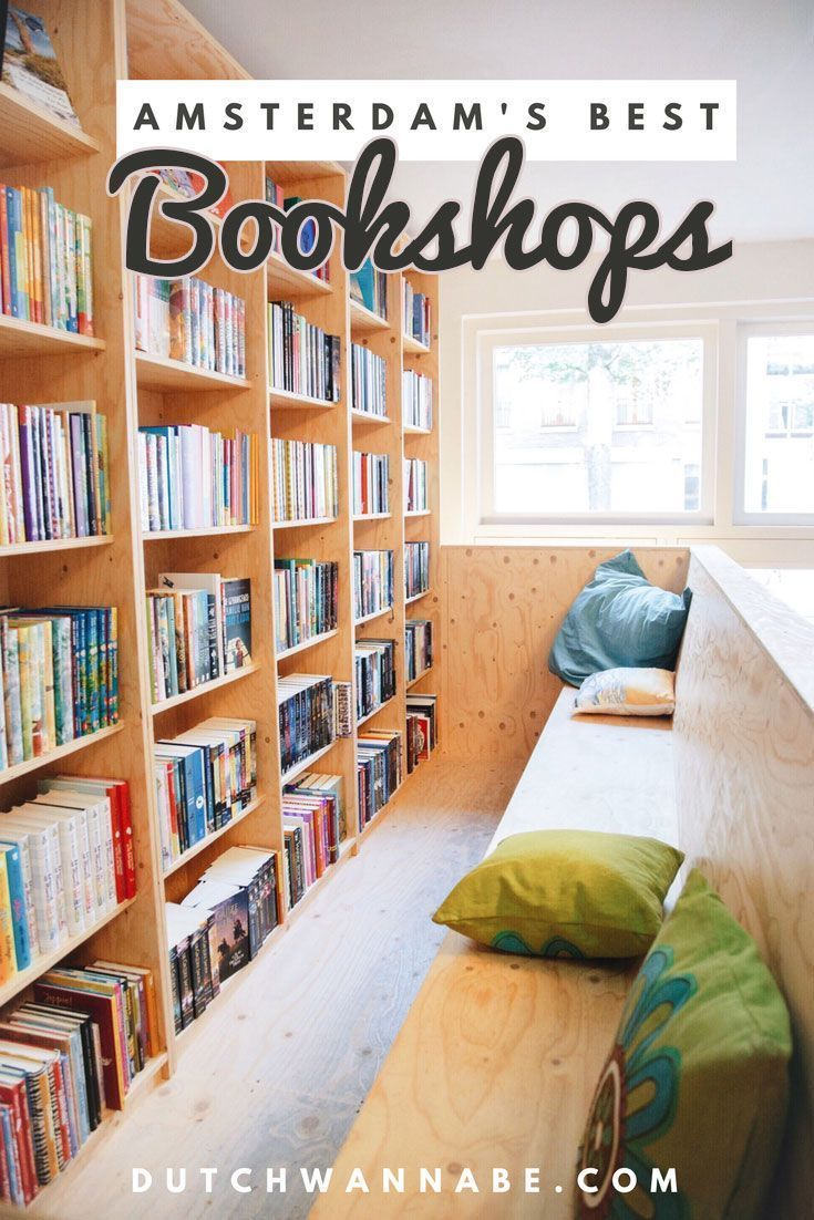 Looking for bookshops in Amsterdam? Here's a complete list of all Amsterdam bookstores with English books and a map to guide you: 30 Amsterdam Bookstores That Will Make You Forget Time #bookshops #bookstores #amsterdam via @dutchwannabe