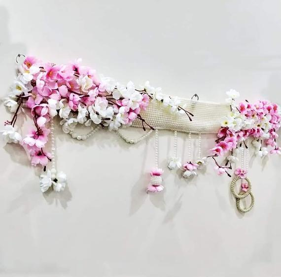 Indian Handmade Decor Toran Artificial Flower Garland Door Hanging traditional