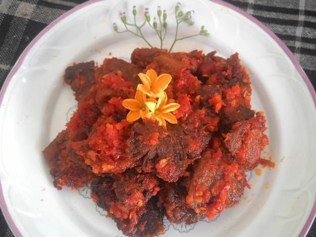 Resep Dendeng Balado Padang Dendeng Batokok Oleh Alina Pramudita Resep Dendeng Resep Masakan Asia Resep Daging Sapi