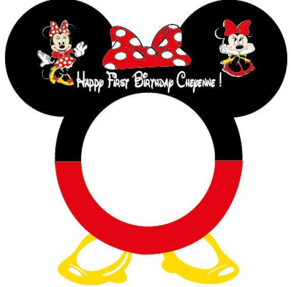 Este encantador mickey minnie mouse foto cabina marco es for Cabina del mickey