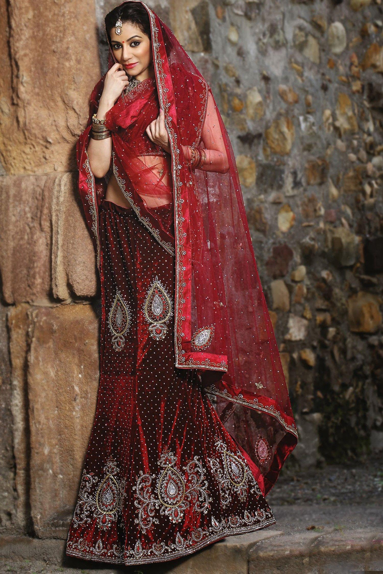 Favori le Lehenga tenue traditionnelle indienne | Tenue traditionnelle  GZ16