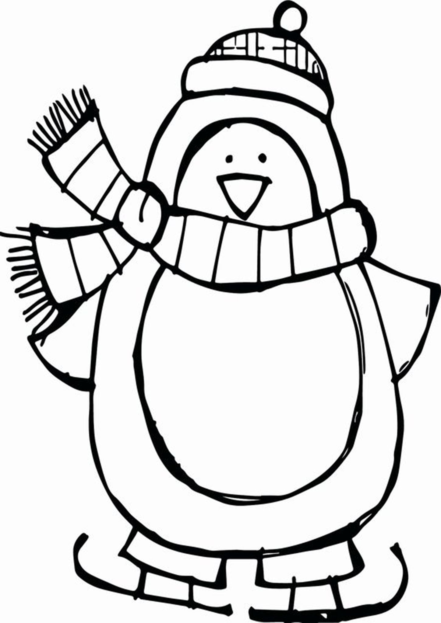 Free Easy To Print Penguin Coloring Pages Penguin Coloring Pages Coloring Pages Winter Animal Coloring Pages