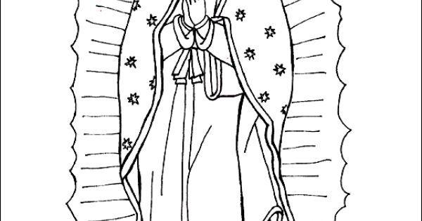 Our Lady Of Guadalupe Coloring Page Classe De Espanol Pinterest Virgen De Guadalupe Coloring Pages Inspirational Coloring Pages Paw Patrol Coloring Pages