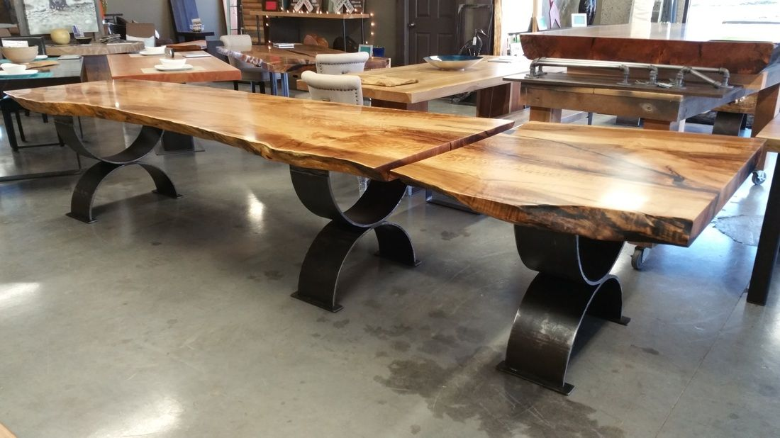 Picture Diy Dining Room Table Live Edge Table Dining Rooms