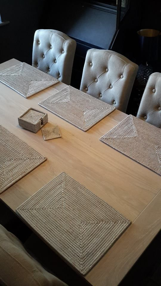 Neptune Harrogate Dining Table Sheldrake Millet Chairs And Chalked Rattan Ashcroft Mats