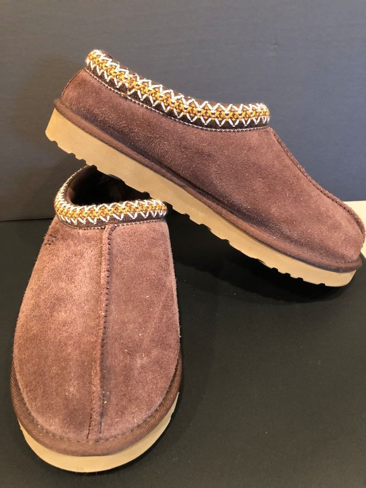 4735d2c9a Ugg Australia Tasman Wool Slippers (Men's US 9M) Chocolate #fashion  #clothing #shoes #accessories #mensshoes #slippers (ebay link)