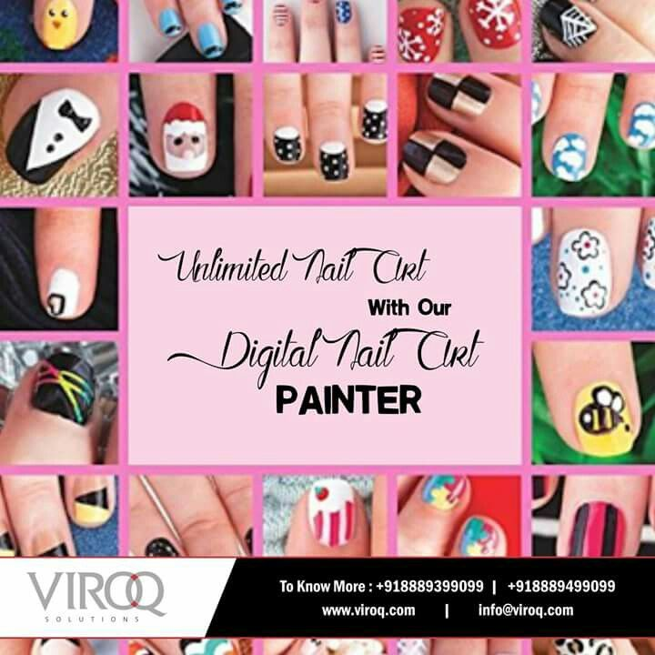 Now You Can Get Unlimited Designs Printed On Your Nails In Hardly A
