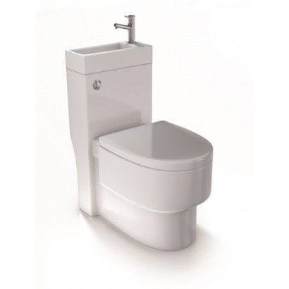 Buy Aquarius Combination Toilet Basin SpaceSaver WC AQSSWC - for only +  VAT. Browse our range of Aquarius products online or call our team for more  ...
