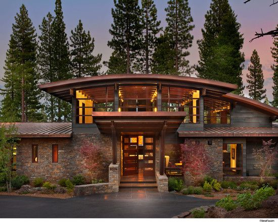 Contemporary Roof Design Ideas Pictures Remodel And Decor Quonset Hut Homes Roof Design Rustic Exterior