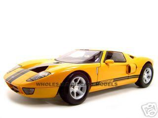 Click Image Above To Buy Ford Gt Conceptcast Model Yellow   Cast Car By Motormax