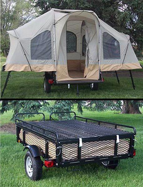 Lifetime C&ing Tent Trailer & Lifetime Camping Tent Trailer | Camping Tents | Pinterest ...