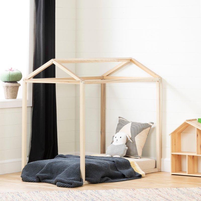 Rc Willey Kids Beds: Modern Natural Toddler Bed Frame - Sweedi