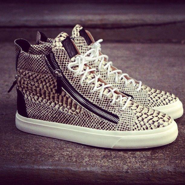 Guiseppe Zanotti Sneaks! #sneakerhead #stylestruck #streetchic #fashion