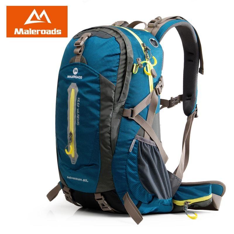 1a2bbfc0e65 Maleroads 40L Hiking Backpack Trekking Rucksack Travel backpack Outdoor  Sport Bag for Women Men Climber Camping