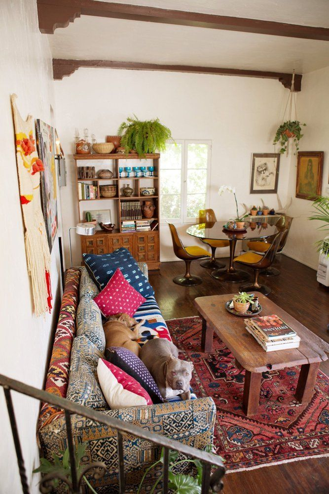 Sasha\'s Silver Lake Bohemian Bungalow | Apartment therapy, House ...