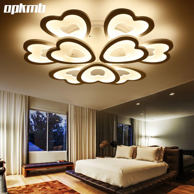 Modern living room ceiling lamps DIY heard style led ceiling ...