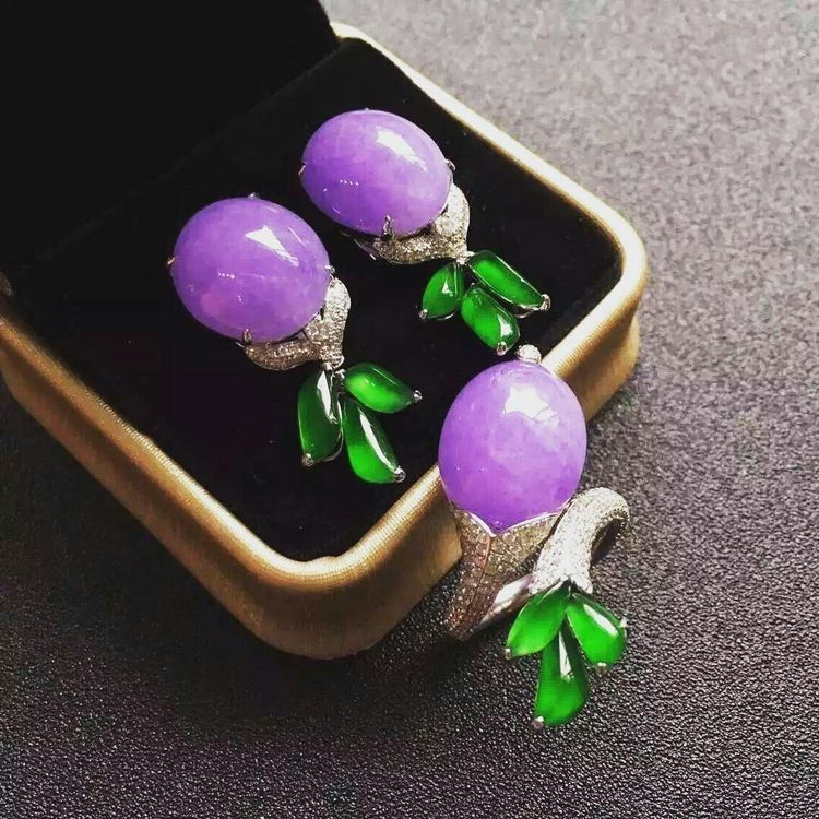 free earrings jade sterling amethyst dark purple versil watches and silver product jewelry