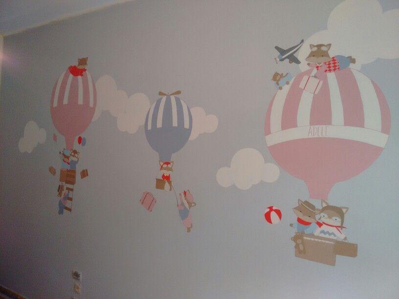 Mongolfiere cameretta decorazioni camerette baby