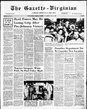 Several Newspaper Articles From 1964 Depicting Responses To The Civil Rights Act And Integration Civil Rights Act Of 1964 Civil Rights Acting