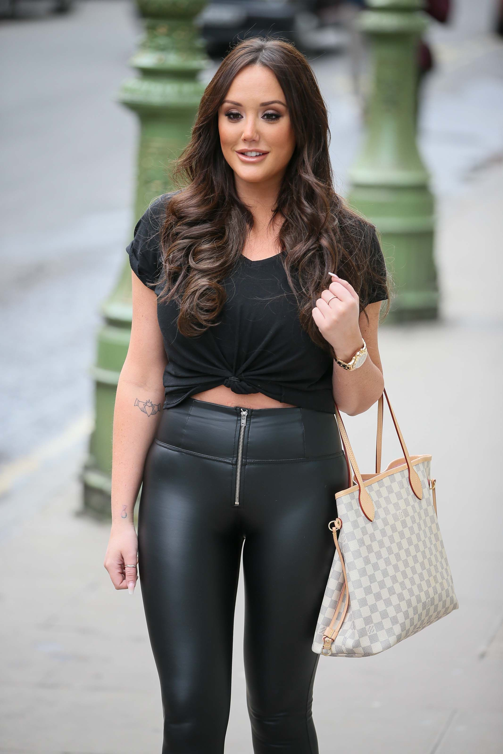 dcbba1d8e45 Charlotte Crosby at Charlotte Street Hotel
