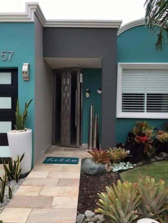 Colores Para Casas 2020 Para Fachadas E Interiores Frentes De Casas Pintadas Colores Para Casas Exteriores De Casas