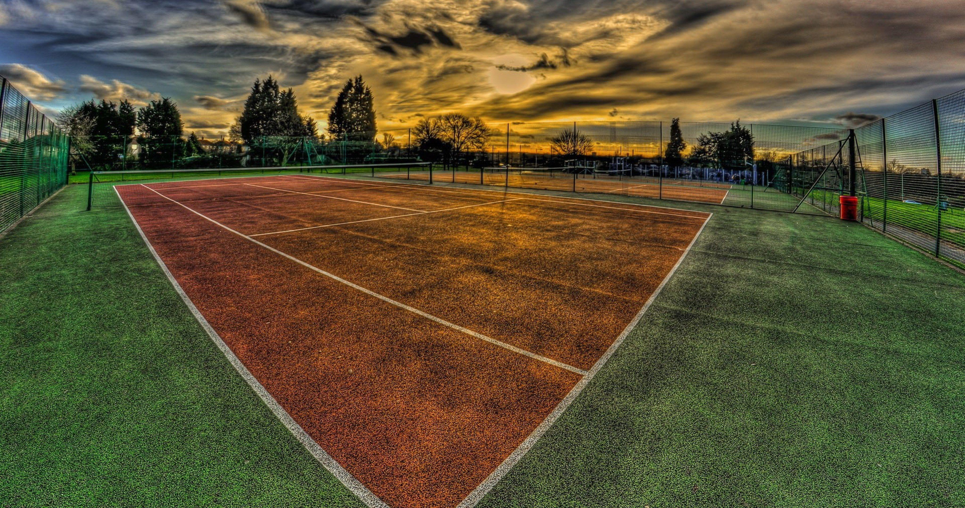 Sports Wallpaper Apps Iphone: Court Sunset Sport Wallpaper 4k Ultra Hd Wallpaper