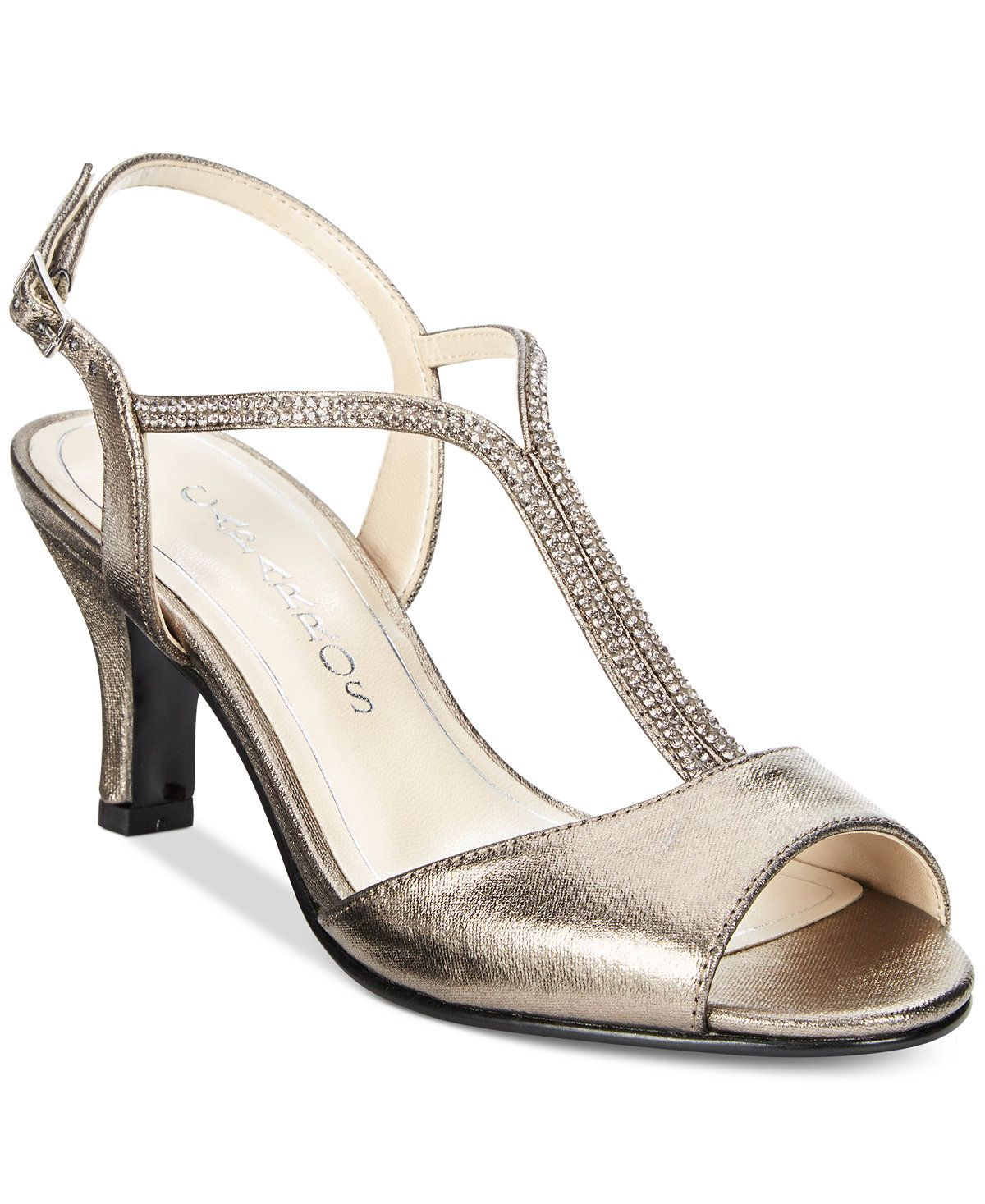 e6c78932436 Caparros Delicia T-Strap Evening Sandals - Sandals - Shoes - Macy s ...