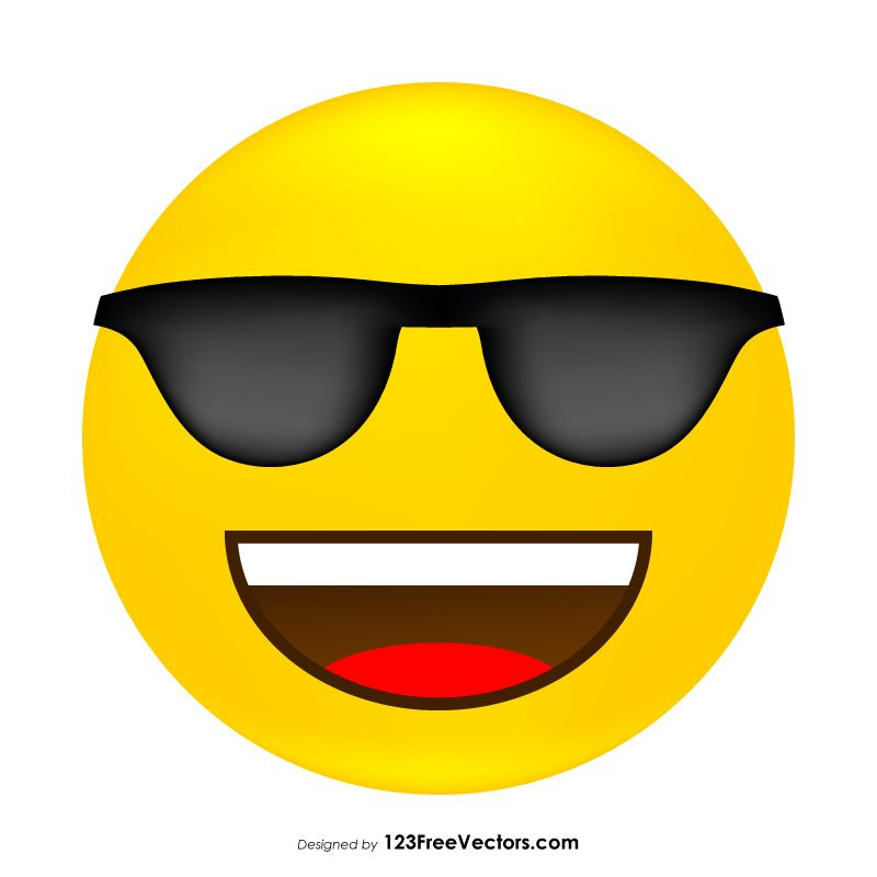 Cool Emojis Cool Emoji Emoji Funny Smiley