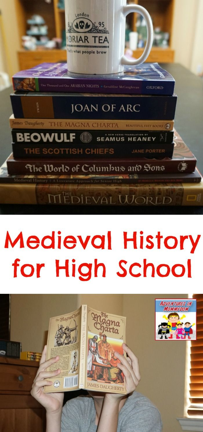 Photo of Teaching Medieval History for High School living books medieval history