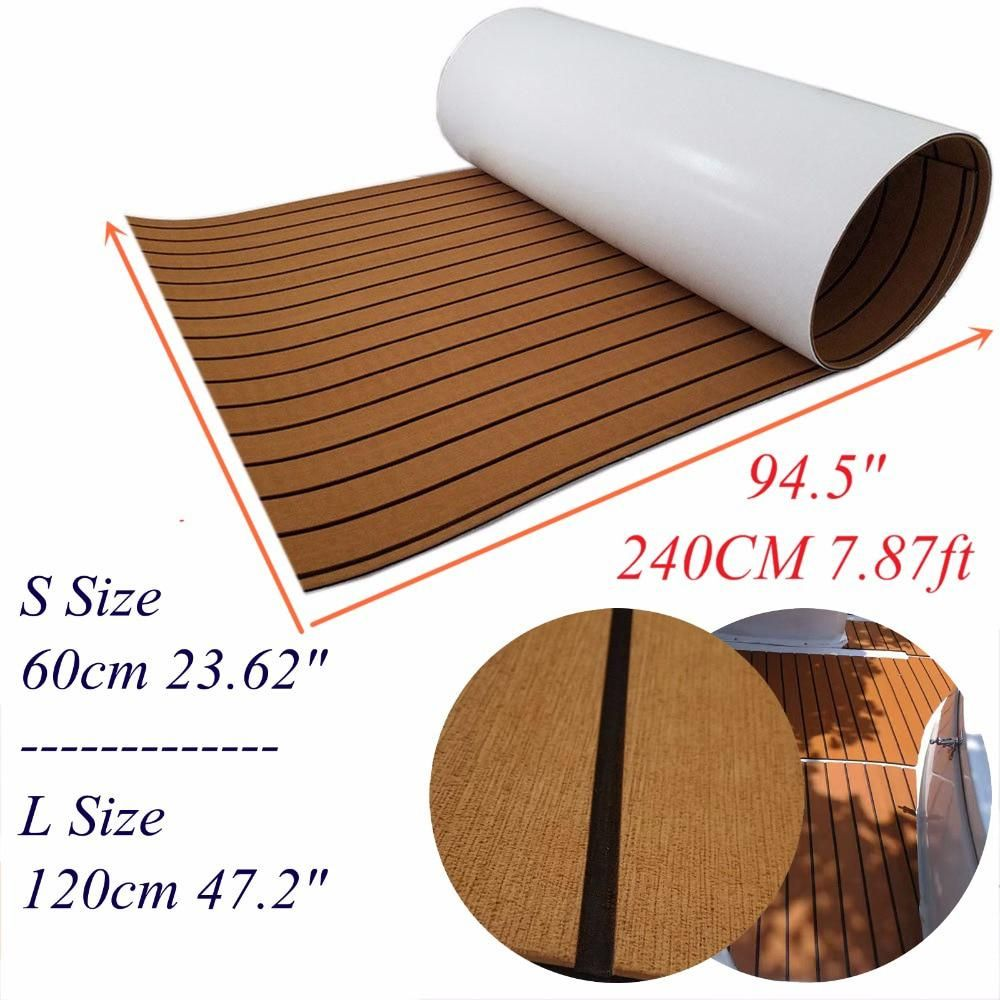 Classic Brown Teak Decking Sheet For Boat Yacht Marine Flooring Eva Foam Us 79 00 In 2020 Marine Flooring Yacht Boat