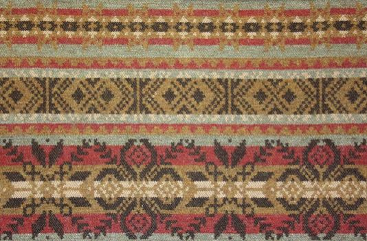 Fair Isle Wool Fabric A stunning new wool fabric, woven in the ...