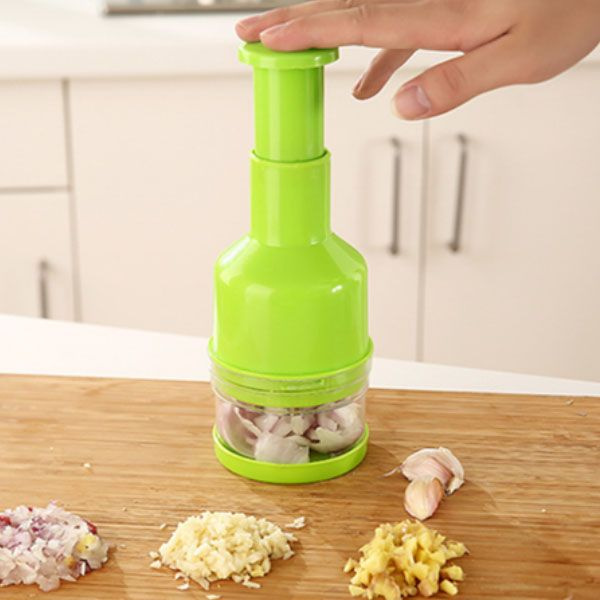 Mini Manual Garlic Grinder Machine Garlic Crusher Kitchen Gadgets
