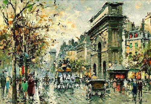Antoine Blanchard - Porte St. Martin