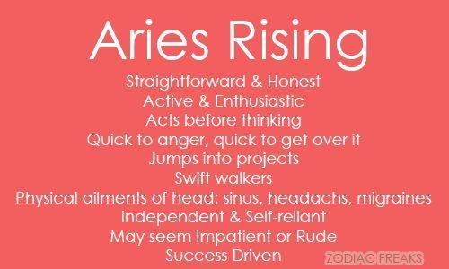 Aries Rising Man
