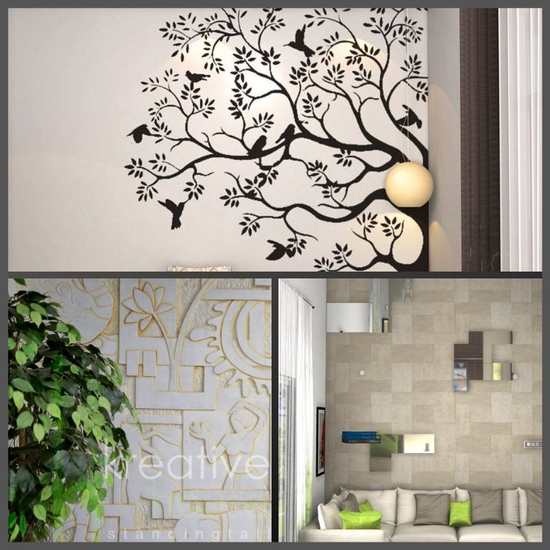 How To Decorate A Large Blank Wall Don T Be Intimidated A Big Windowless Wall Can Be Decora Luxury Closets Design Simple Interior Design Interior Designers