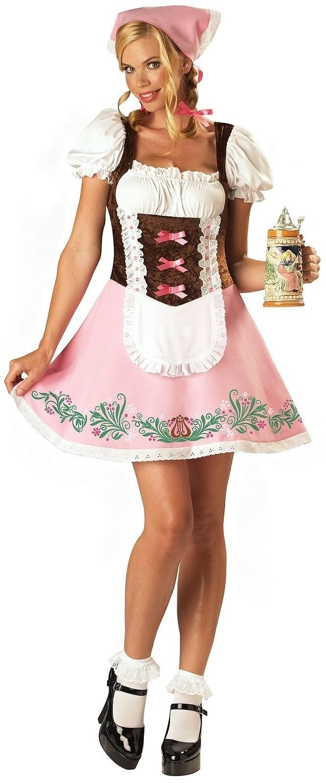 Adult beer tavern girl halloween costumes