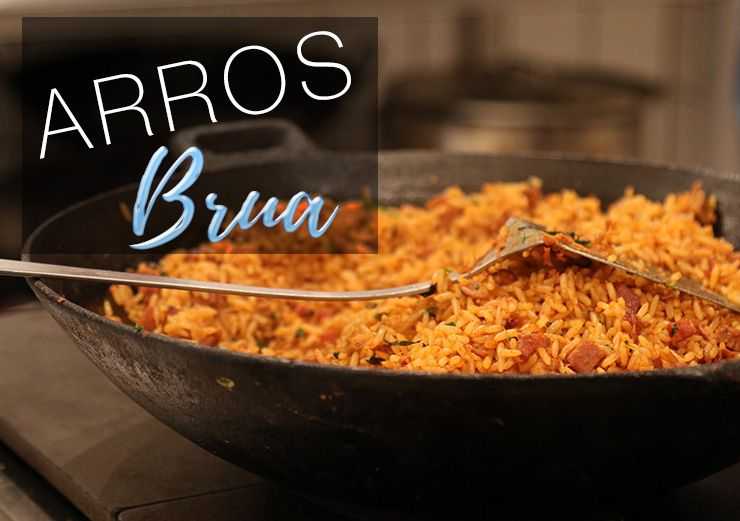 Speciaal Antilliaanse Keuken : Antilliaanse arros bruá fried rice rijstgerecht recept