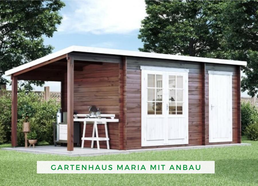 Pultdach Gartenhaus Maria Iso Mit Anbau Schleppdach Gartenhaus Anbau Gartenhaus Gartenhaus Mit Terrasse