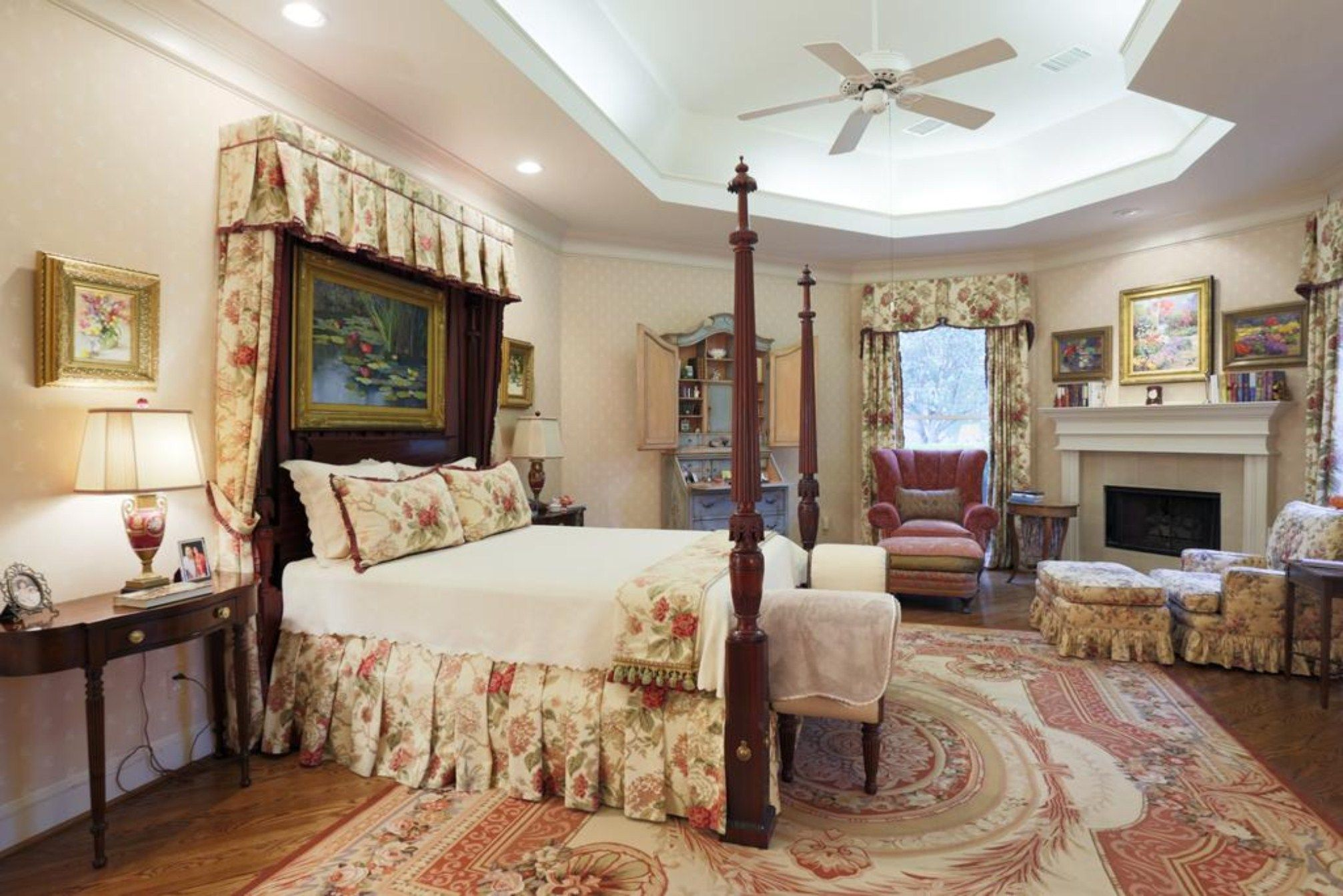 Bedroom: White Ceiling Fans For Master Bedroom With Large ...