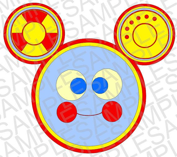 Betere Disney Inspired Toodles from Mickey Mouse Clubhouse SVG and DXF YA-87