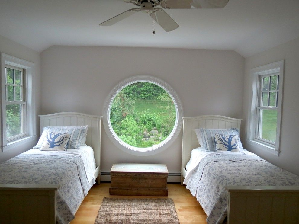 Unique And Compelling Round Windows For Every Room