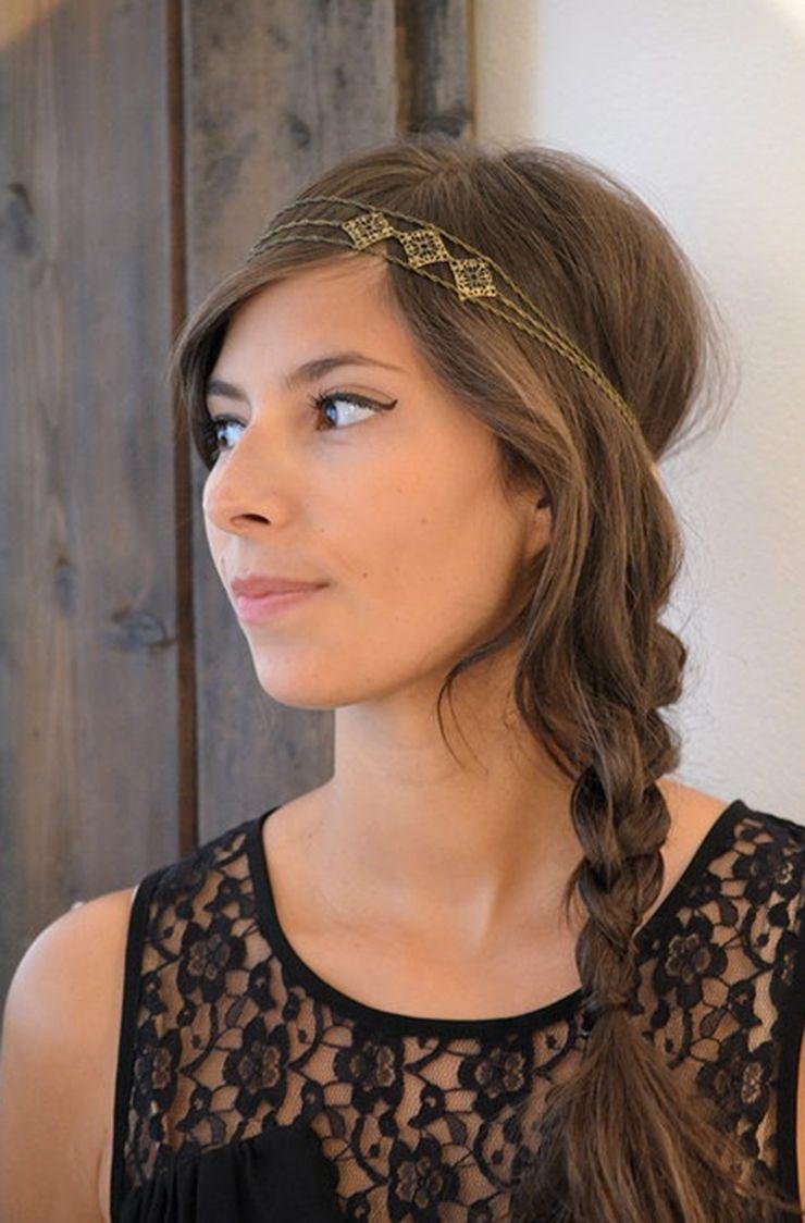 Karin PossetRouw de Madapolam Coiffure avec headband