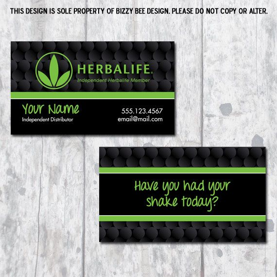 Hwo To Sell On Etsy Herbalife Business Cards Etsy Co Create Architecture