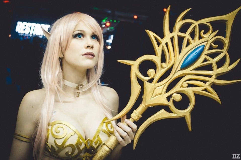 Ladylemoncosplay Lineage 2 Light Elf Photo By Diego Zanotti