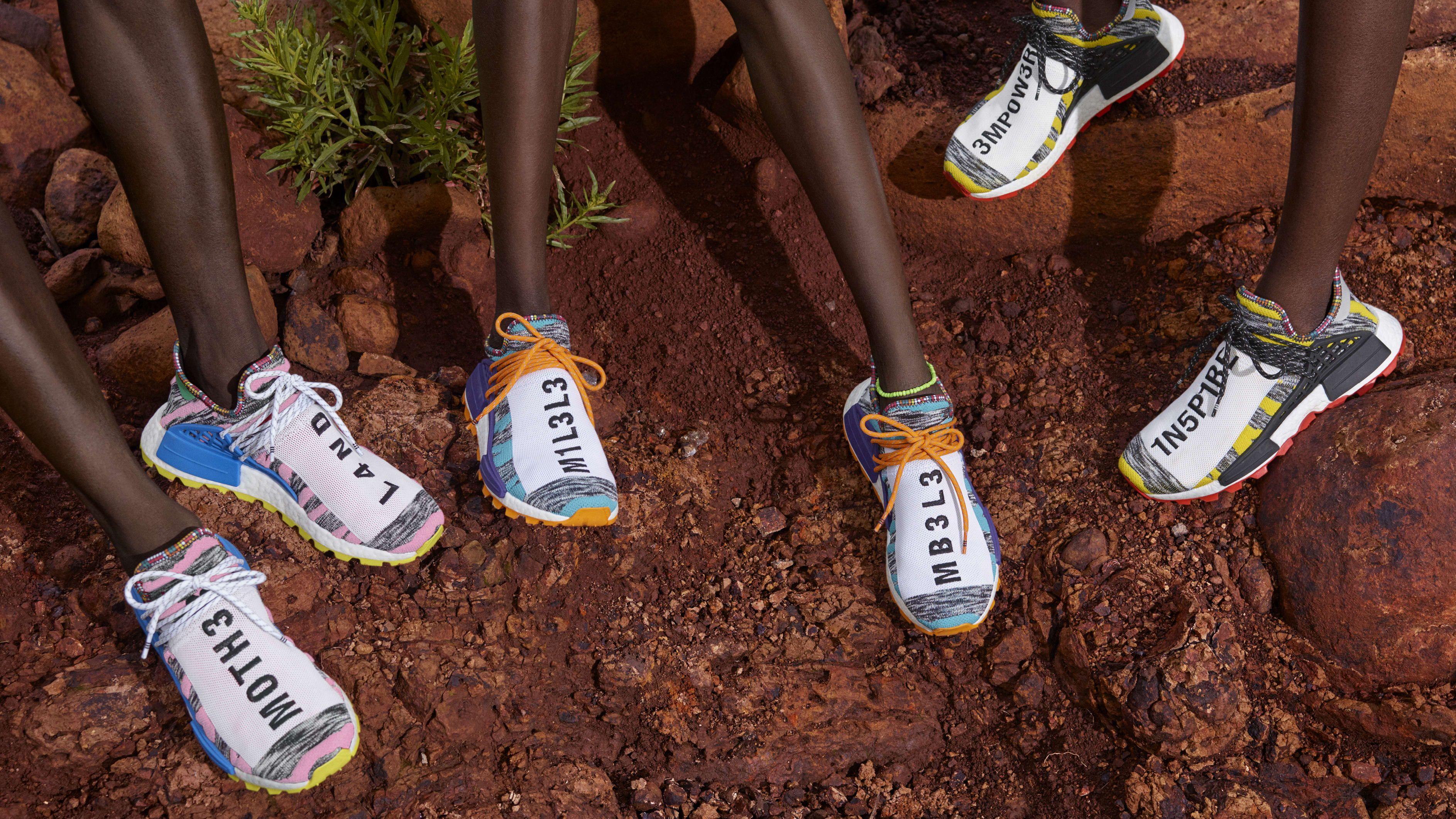36a486f343479 Pharrell X adidas NMD Hu Trail Solar Pack Coming Soon