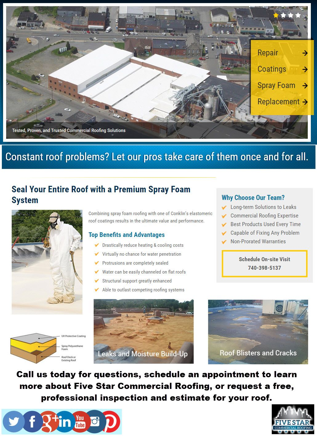 Pin By Mejonsnow On Commercial Roofing Services Roof Problems Commercial Roofing Roofing Services